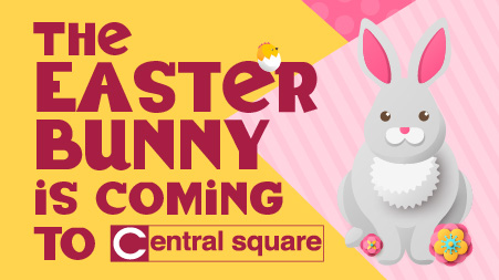 The Easter Bunny is coming to Central Square Shopping Centre
