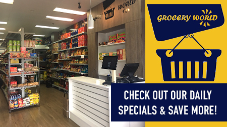 Daily Specials at Grocery World