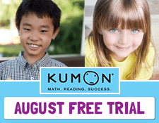 FREE Two Week Trial in August at Kumon Education Centre